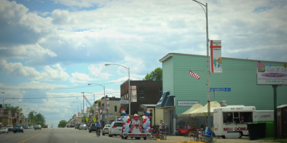 Gilbert, Minnesota, on the Byway, gets ready for its Independence Day parade. – Michelle Pierson