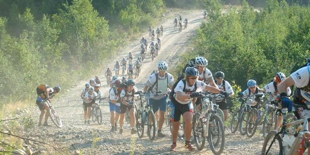 North of hwy 11 in Ontario - 6 day adventure race