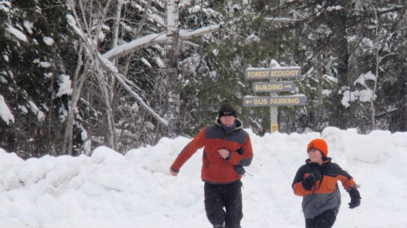 Room to run and play, winter and summer. – Wolf Ridge Environmental Learning Center