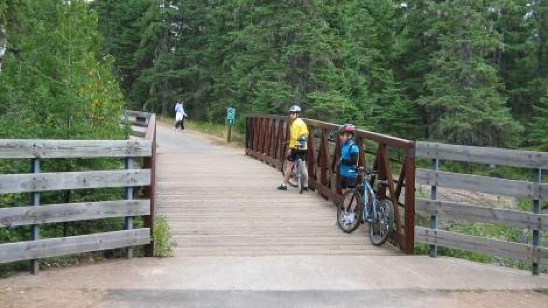Gitchi-Gami State Trail Bridge