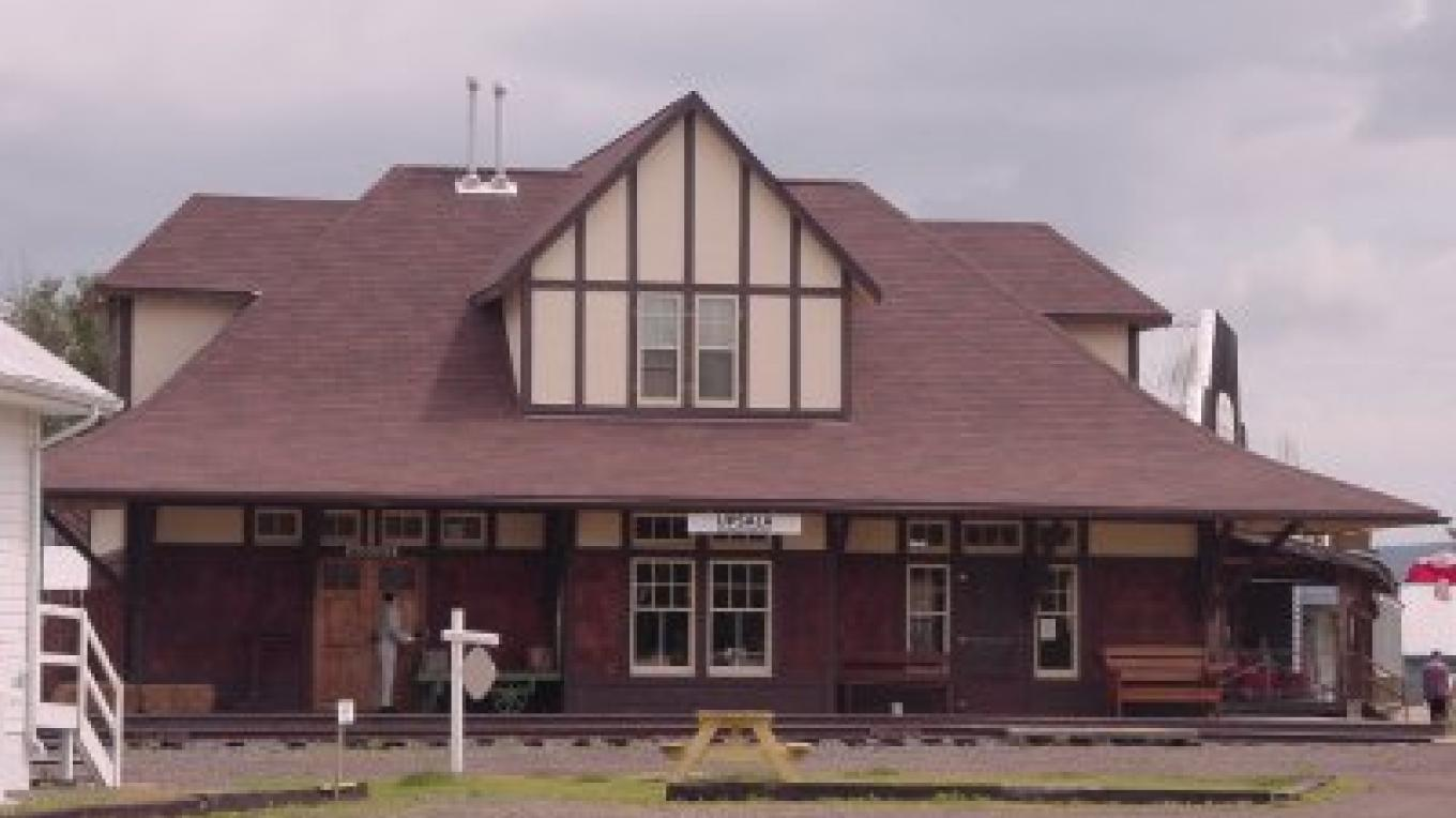 A look at the Train Station
