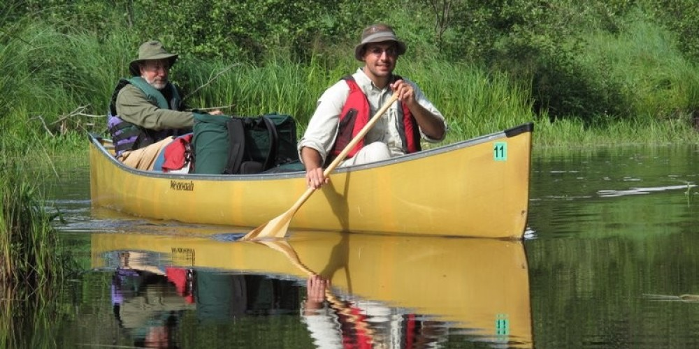 Paddling on Iron Lake in the BWCAW. – Ely Outfitting Company