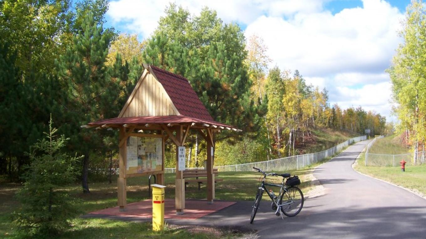 We're just waiting for you to join us for a bike ride on the Mesabi Trail. – Birdie Oddo