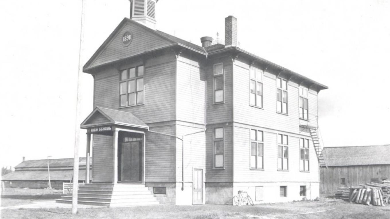 Museum was built in 1898 as a school – Museum Archives