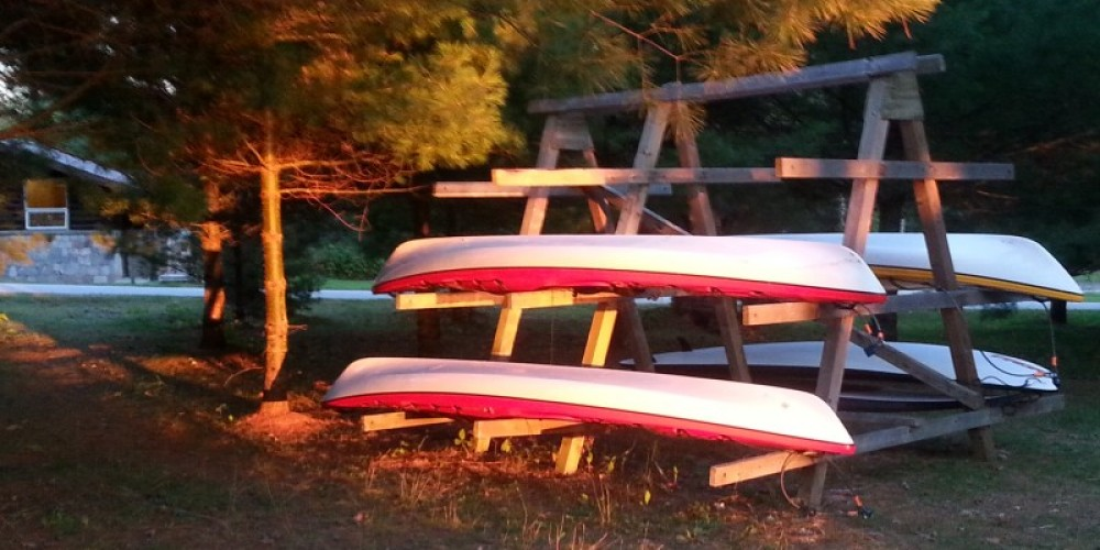Rent a kayak from The Friends of Quetico