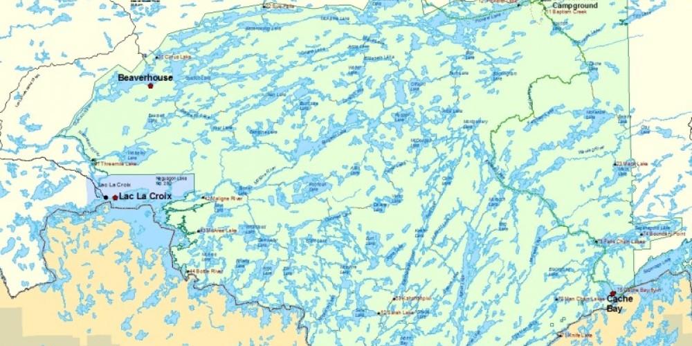 Quetico Provincial Park Entry Stations