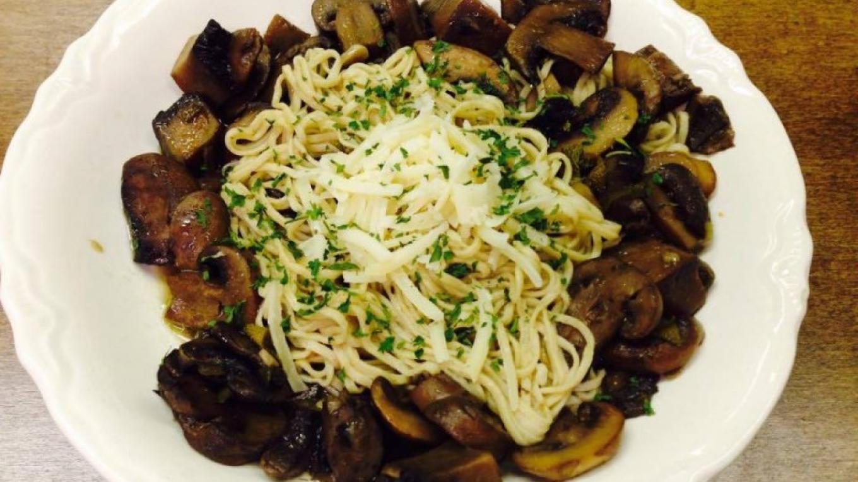 Mushroom Ragu – K Pizzolato
