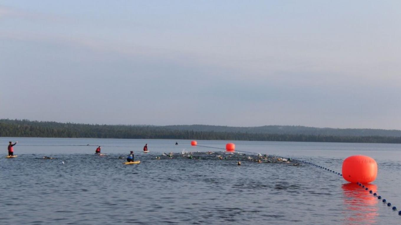 Swimming Lake Marie Louise – XTERRA Sleeping Giant