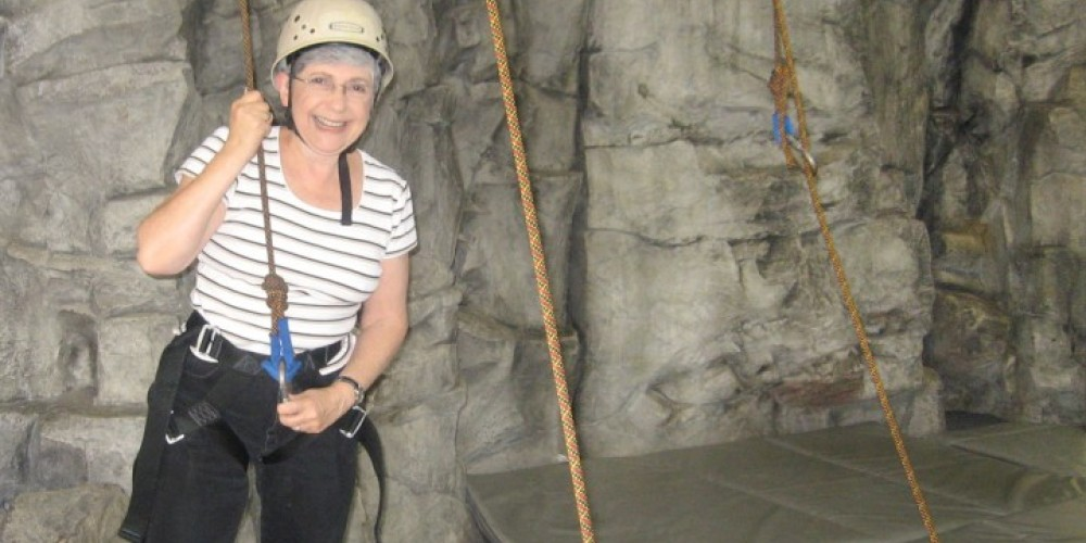 Rock climbing and the adventure ropes are highlights for all ages. – Wolf Ridge Environmental Learning Center