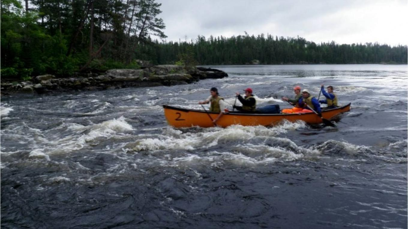 Running the Rapids - Atikokan Outers Program