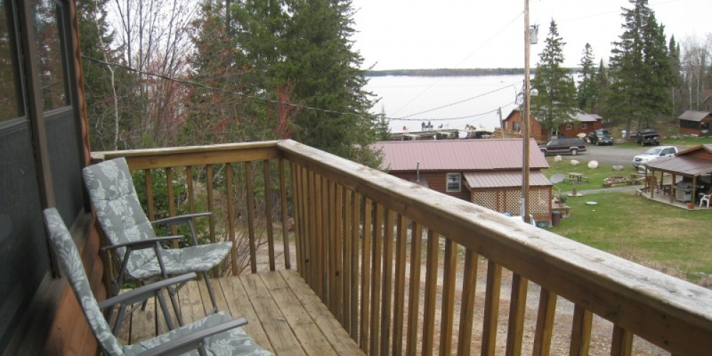 View from deck of #4, one bd rm