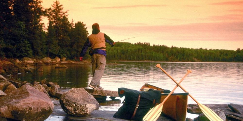 Fishing at Fourtown Lake, Ely Minnesota/Boundary Waters Canore Area Wilderness – Lynn