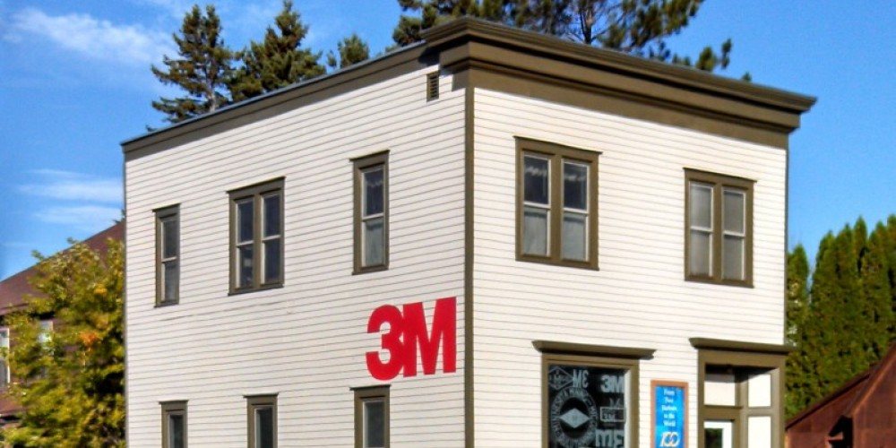 The Dwan Office Building, birthplace of Minnesota Mining and Manufacturing, 3M – Mel Sando