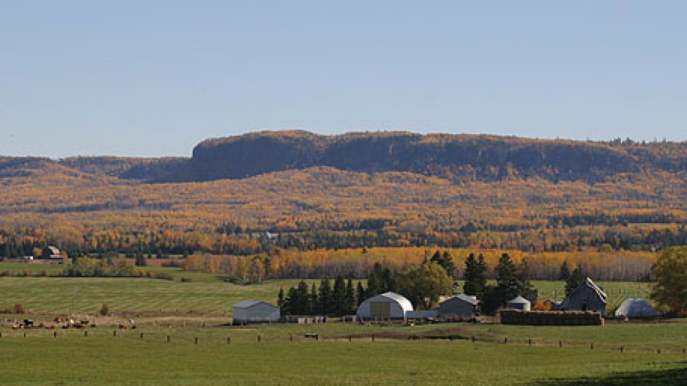 Picturesque fall at the farm – Sunset Ridge Cattle Co.