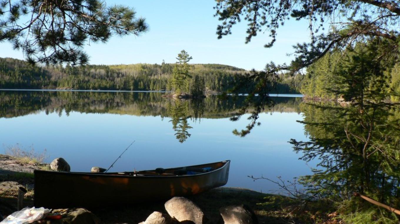 Camel Lake Campsite - QUETICO