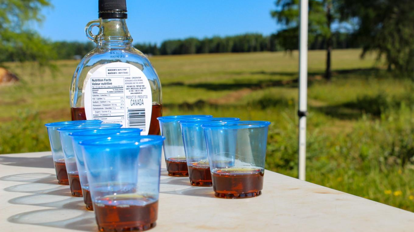 Maple syrup shooters!