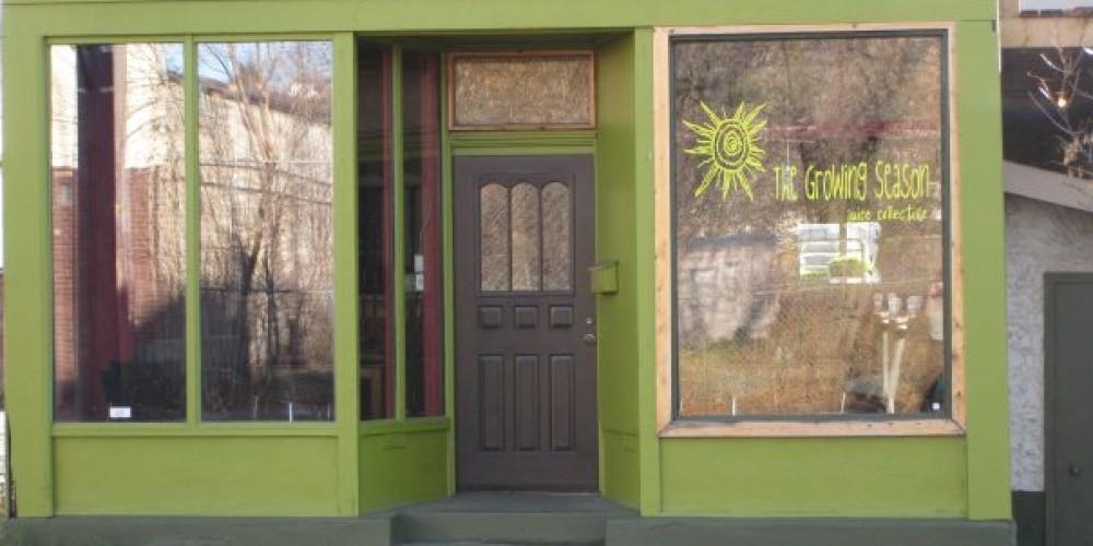 Growing Season exterior of building – Whitney Posmituk