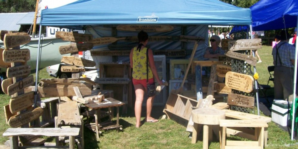One of many vendors at the Fair