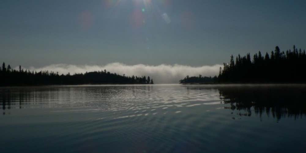 Morning on Cache Lake – C Stromberg