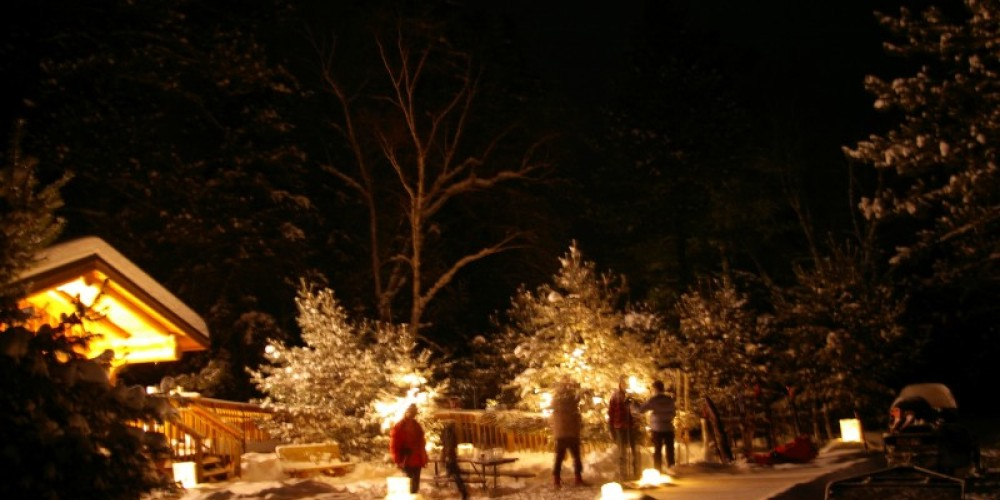 Candlelit ski Quetico centennial 2009 – Catherine Reilly