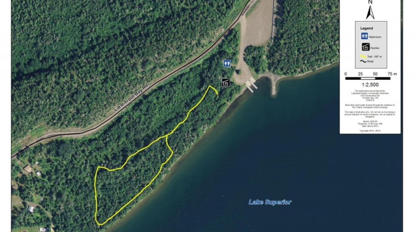 Little Trout  Bay Conservation Area Trail Map – LRCA Staff