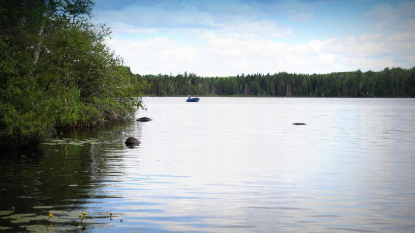 Cadotte Lake, on the Byway, features camping and fishing. – Michelle Pierson