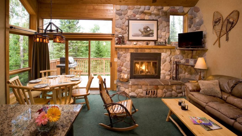 Inside a Poplar Ridge Home