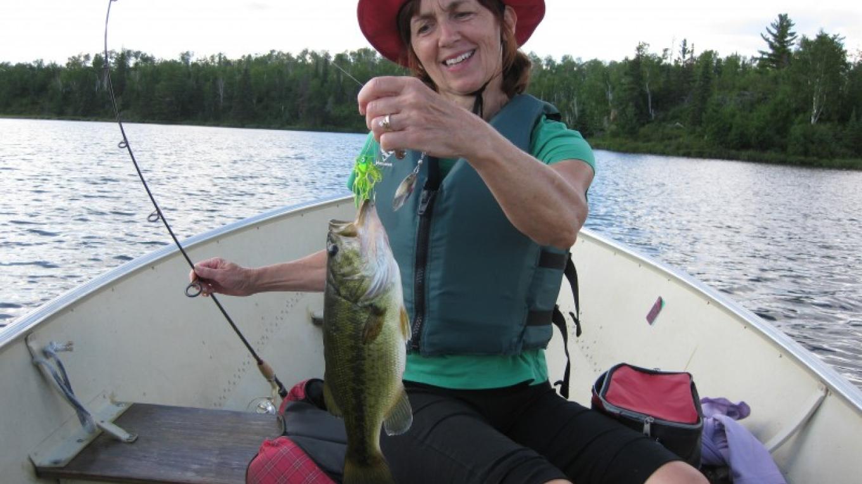 Nice Bass from Jasper Lake – Neil Stadlman