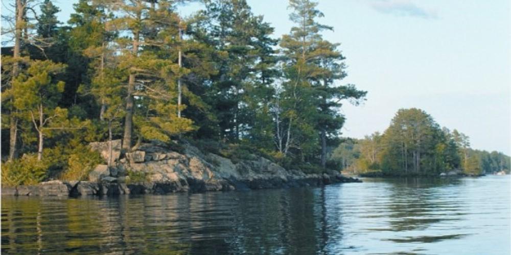 Lake Vermilion shorline