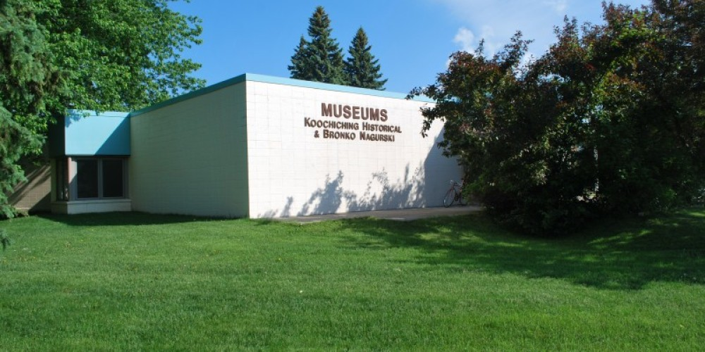 Koochiching County Museum is on the north end of Smokey Bear Park in downtown International Falls. – international falls, rainy lake and ranier CVB