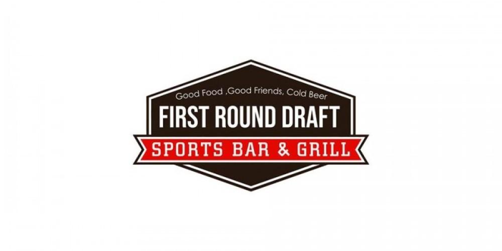 First Round Draft Sport Bar & Grill Logo – Tara Warren