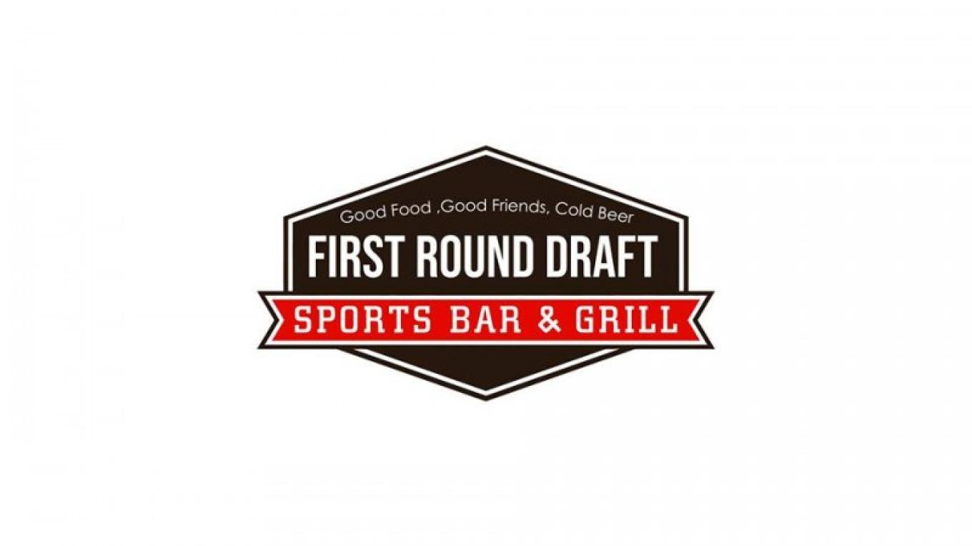 First Round Draft Sport Bar & Grill Logo – Tara Warren