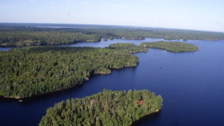 Lake Vermilion aerial