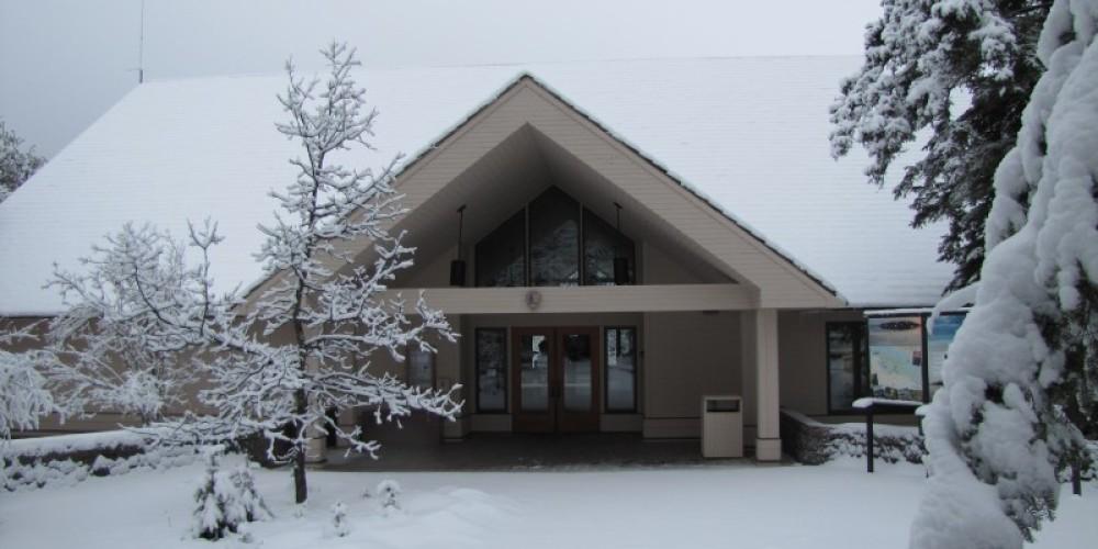 Winter at the Rainy Lake Visitor Center – NPS