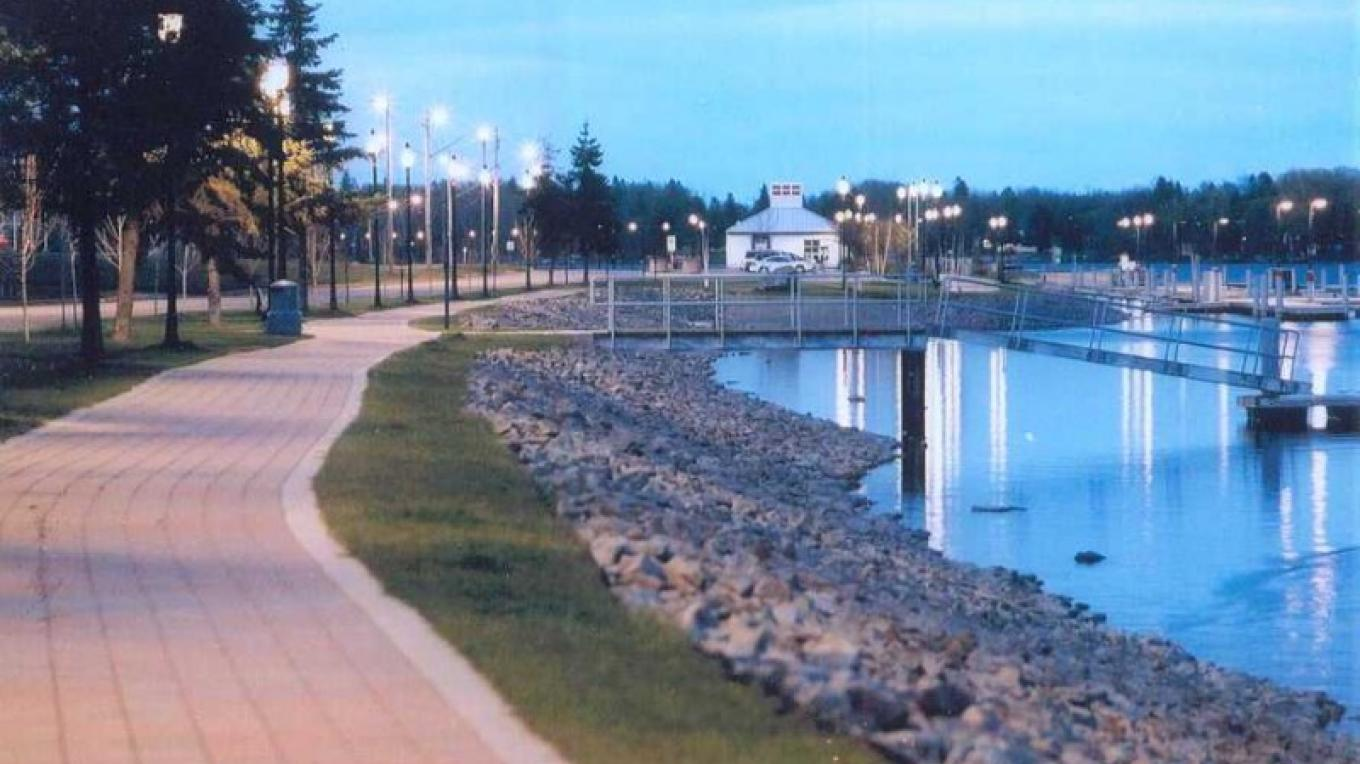 Waterfront at Dusk – Fort Frances Chamber of Commerce