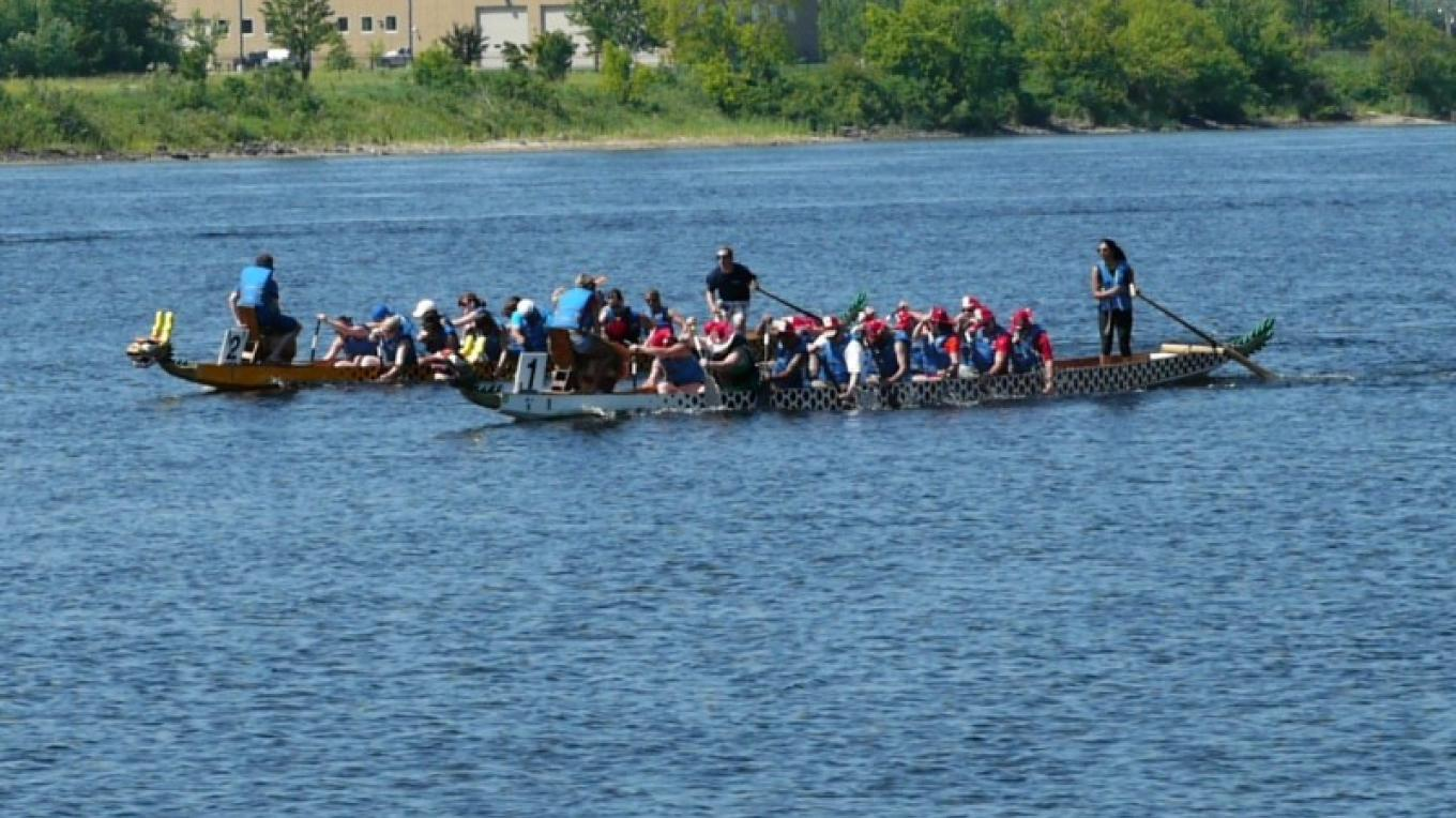 Property of the Boundary Waters Dragon Boat