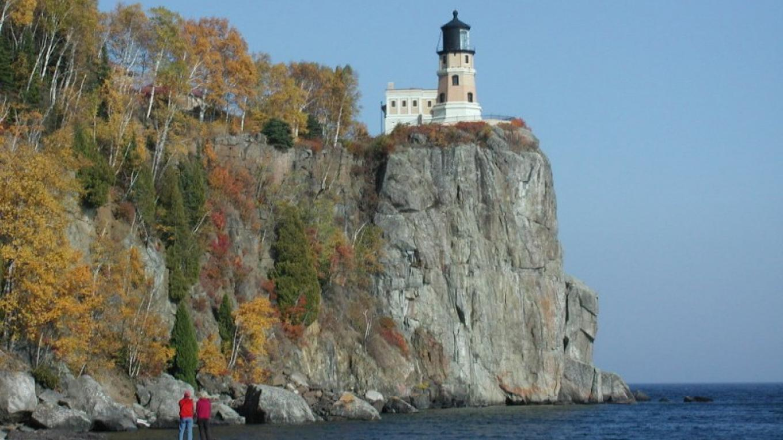 Split Rock Lighthouse atop its 130 foot cliff. – Lee Radzak