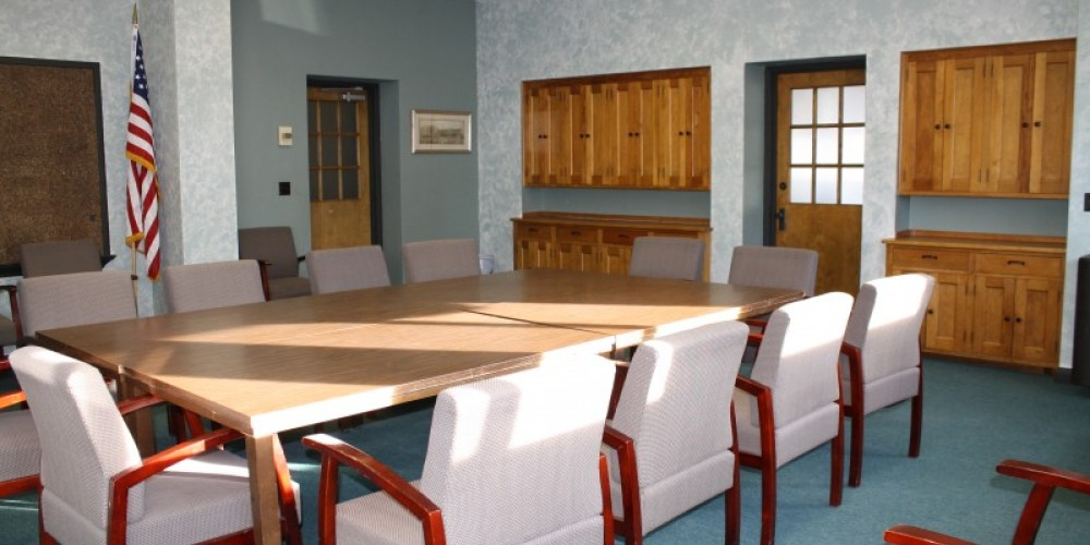 Board Room, perfect rental space for board meetings – Backus Staff