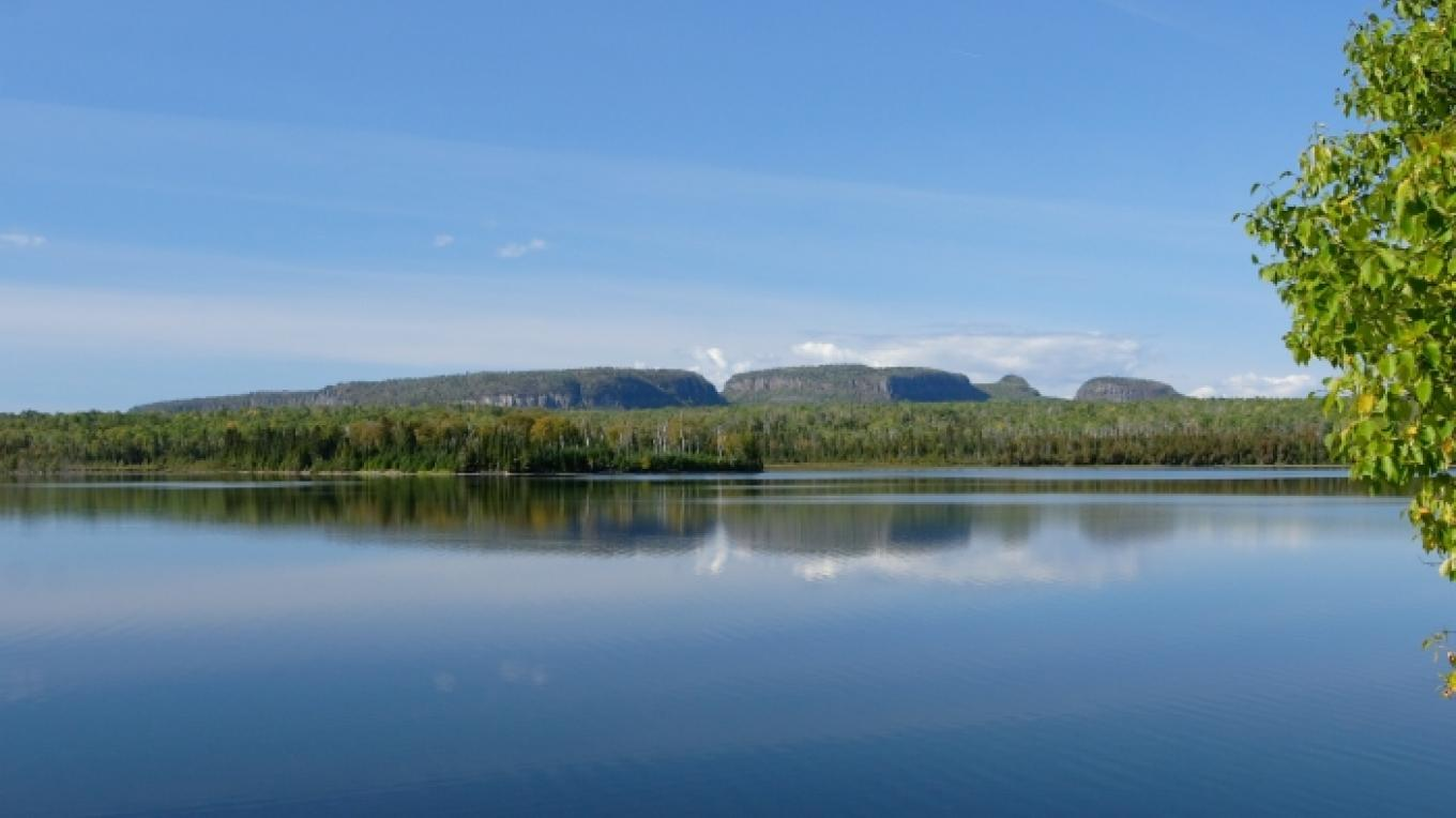 The serene setting of Sleeping Giant Provincial Park, a great venue for an off-road triathlon. – XTERRA Sleeping Giant