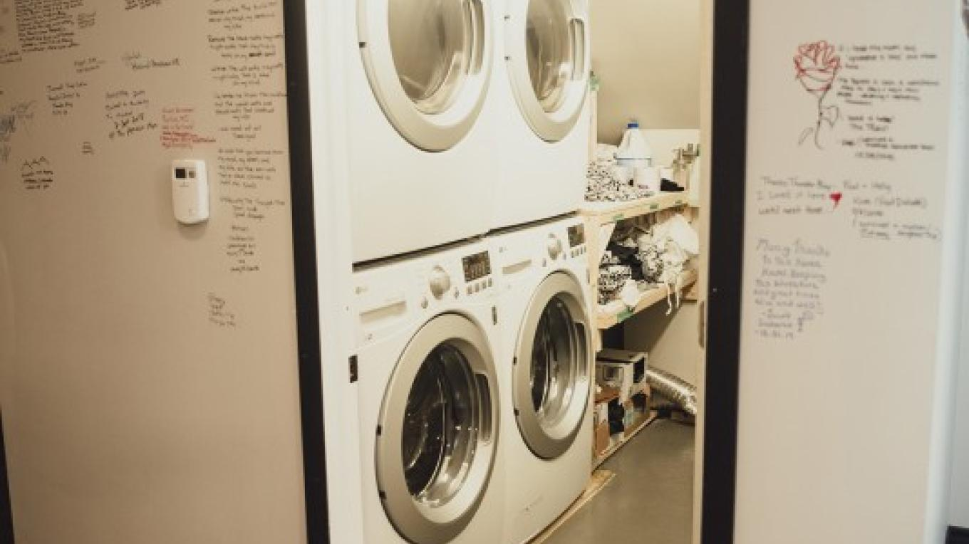 Laundry on-site. We wash, dry, fold and deliver! – Laura Paxton