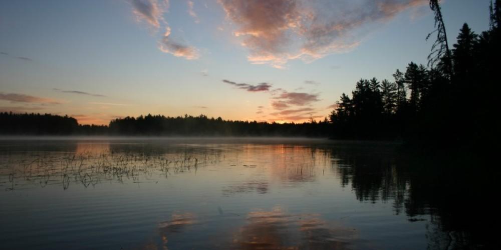 Sunrise on pristine Lake Gegoka – Andy Fisher