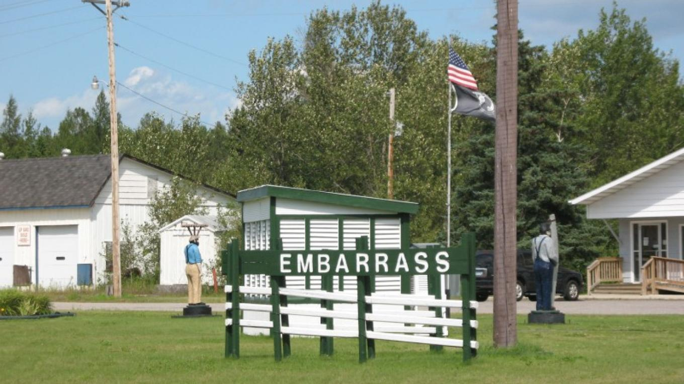 Town of Embarrass