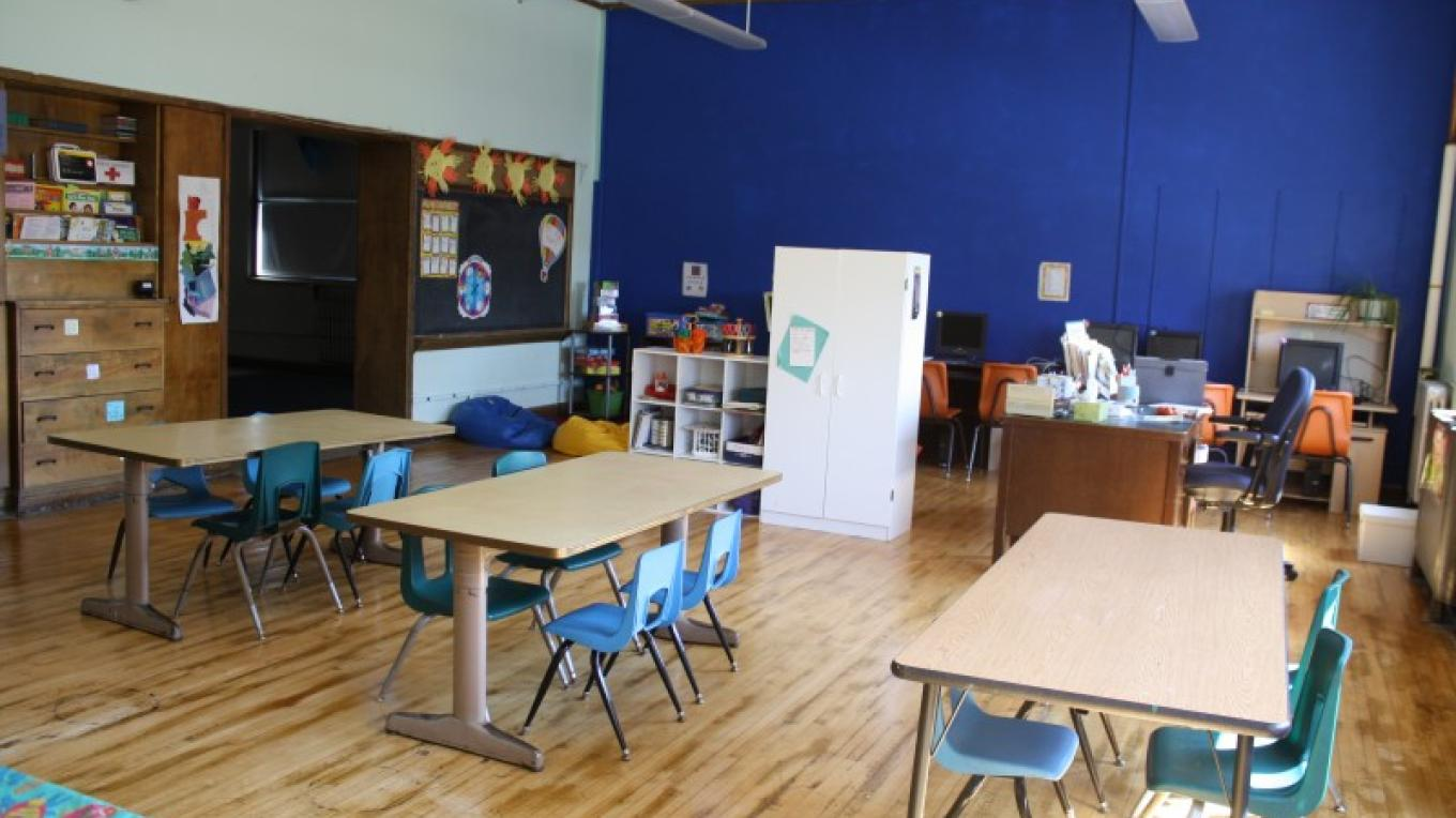 After School Arts/Backus Kids Club classroom – Backus Staff