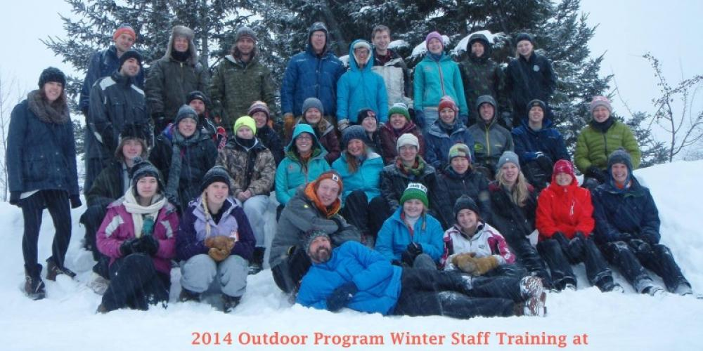 University of Minnesota Duluth Recreation Sports Outdoor Program Staff Training – John Geissler