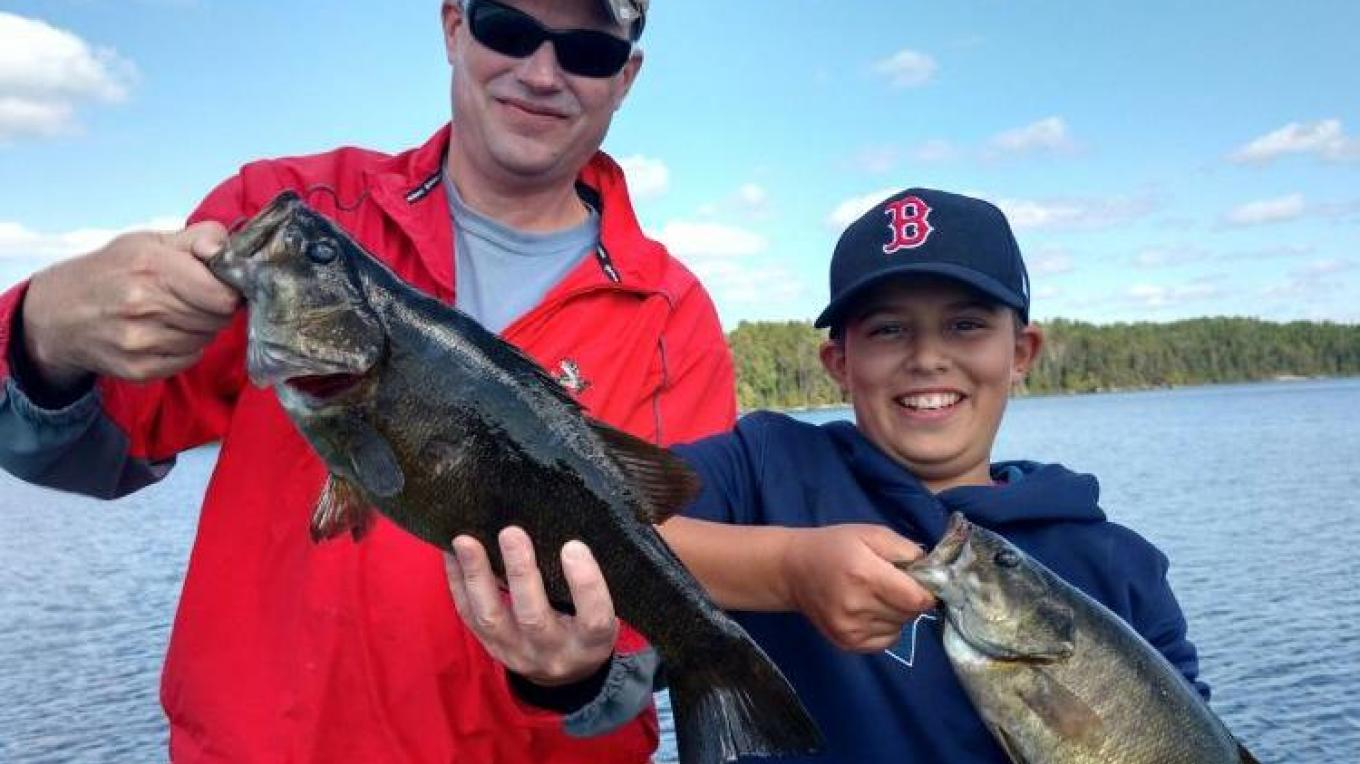 Father and son team – Camp Quetico