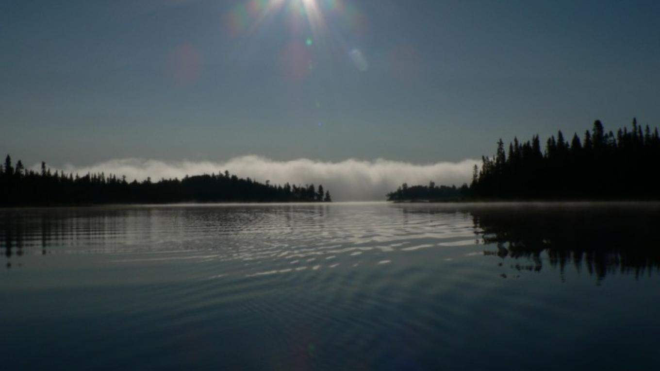Morning on Cache Lake – cs