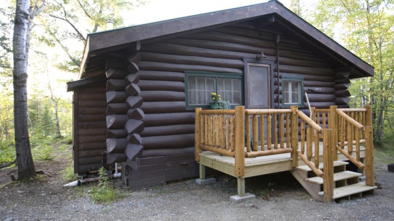 Original Log Cabin – Northernair Loage