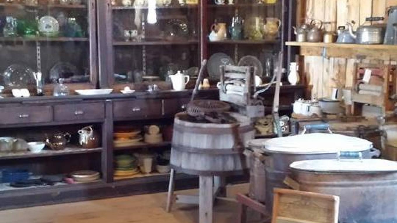 A corner of the General Store