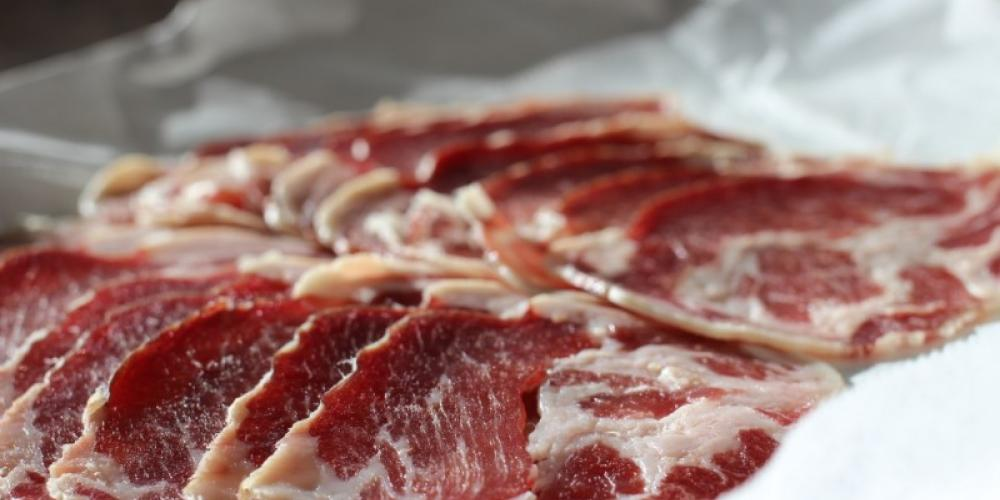 Dry-Cured Coppa, made with MN-raised Berkshire Pork. – Mary K Tennis