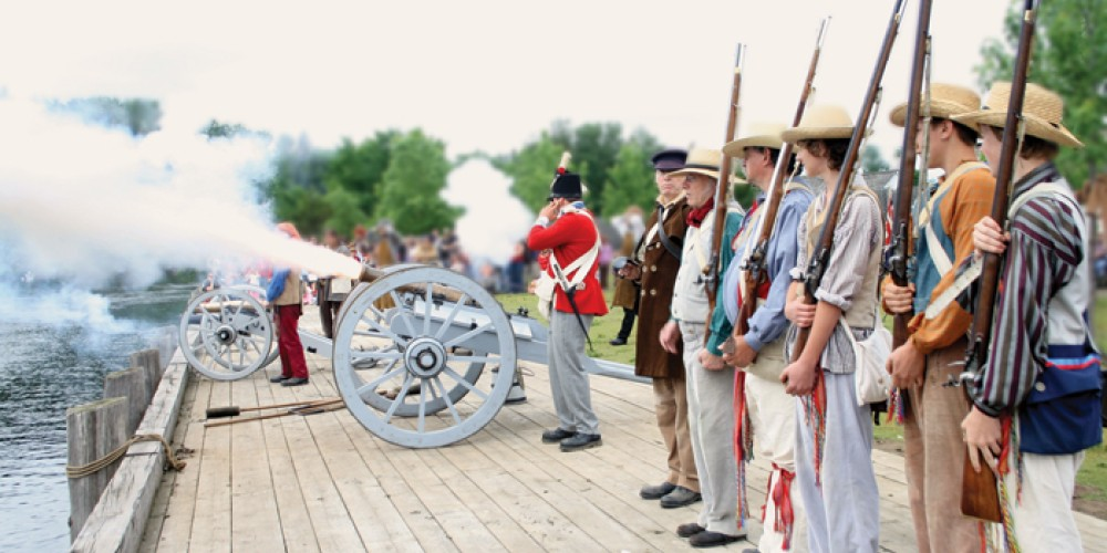 Hear the cannons roar at Fort William Historical Park